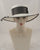 0994WSPA Wide Brim Sailor, Panama straw, natural with grey