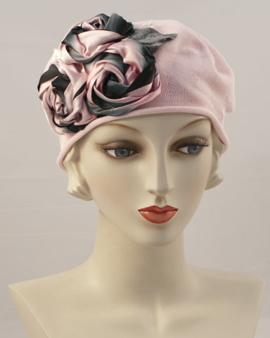 0999SBC Small Beret Cotton,  pink