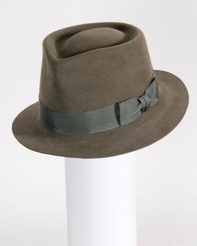 "F0374 Wayne, sueded finish felt, sage, 1 3/4"" brim, Headsize 23 1/4"""
