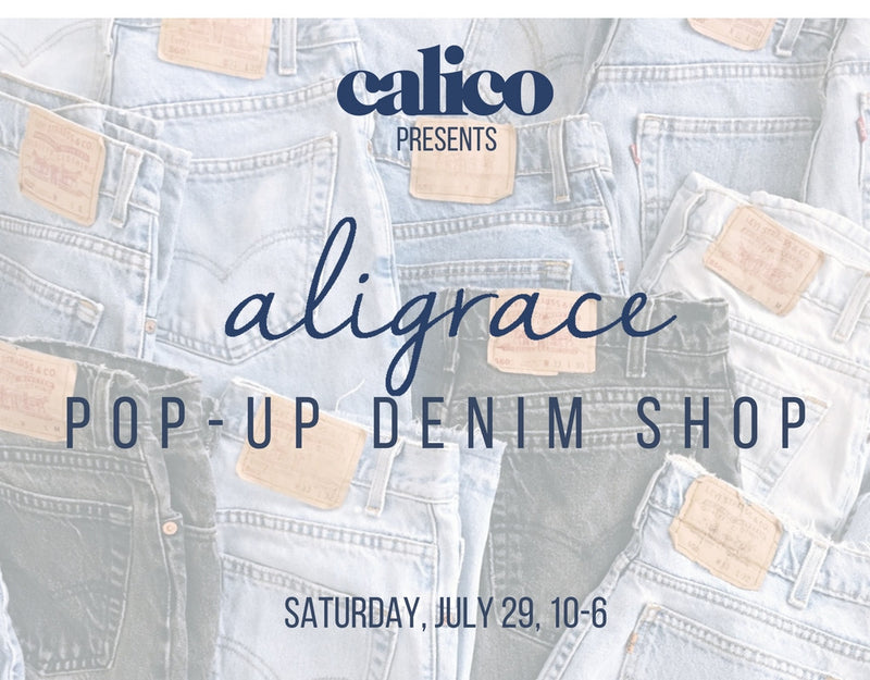 Calico Pop-Up Shop with aligrace