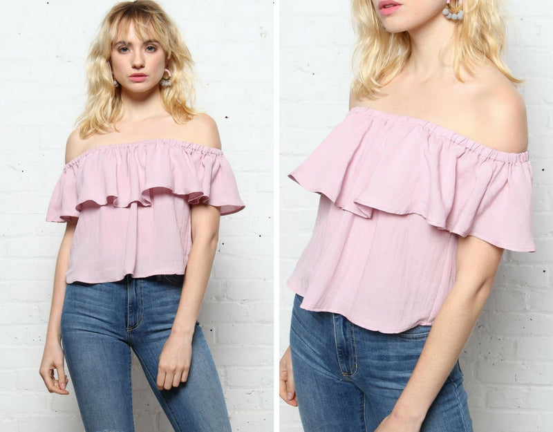 Three Easy Off The Shoulder Tops
