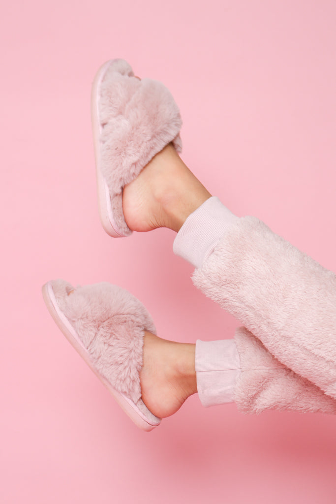 Furry Good Slippers