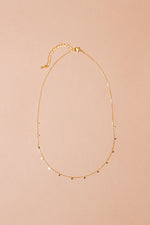 Dainty Disk Necklace