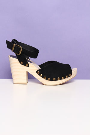 Free People Pasadena Clog - Black
