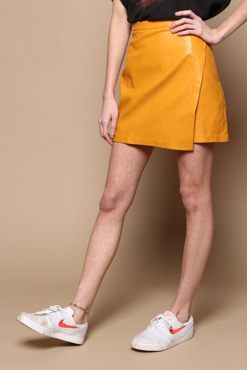 MINKPINK Hello You Skirt - Mustard