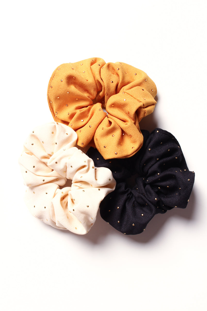 Dot It Out Scrunchie Set
