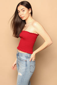 Smock Up Bandeau Top