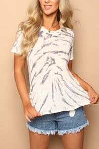 Fit To Be Tied Linen Tee