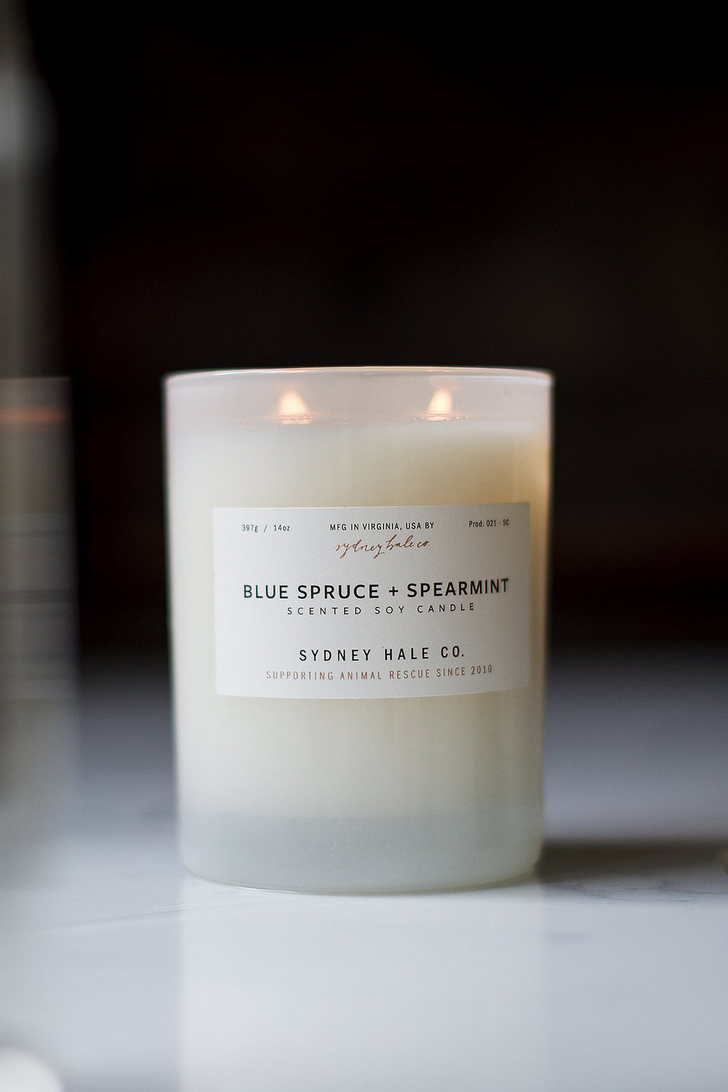 Sydney Hale Co. Blue Spruce + Spearmint Candle