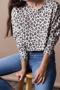 Cat Call Long Sleeve Tee