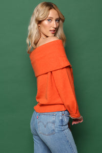 J.O.A Off The Shoulder Sweater