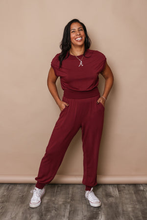 Bishop & Young Keep It Cozy Jumpsuit