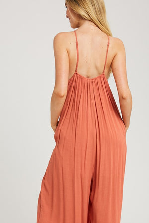 Flow With It Halter Jumpsuit