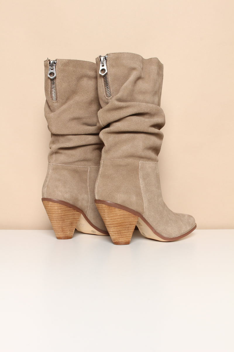 Chinese Laundry Stella Slouchy Suede Calf Height Boot - Mink