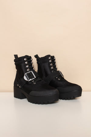 Steve Madden Grady Hiker Boot - Black
