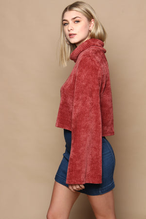 MINKPINK Whole Hearted Sweater - Masala