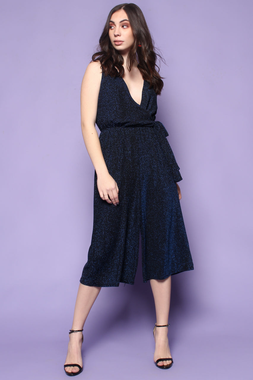 Out Of The Blue Shimmer Jumpsuit