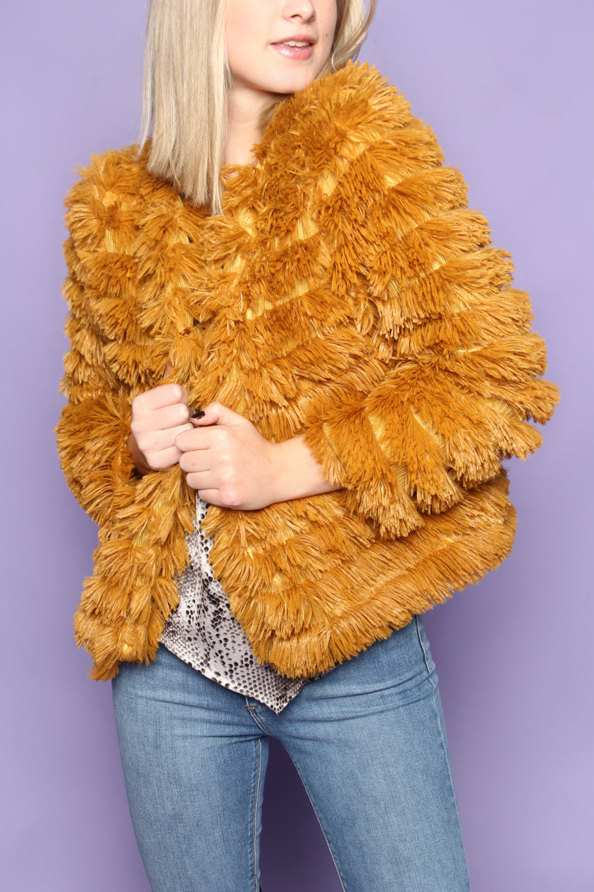 All That Shaggy Jacket - Mustard