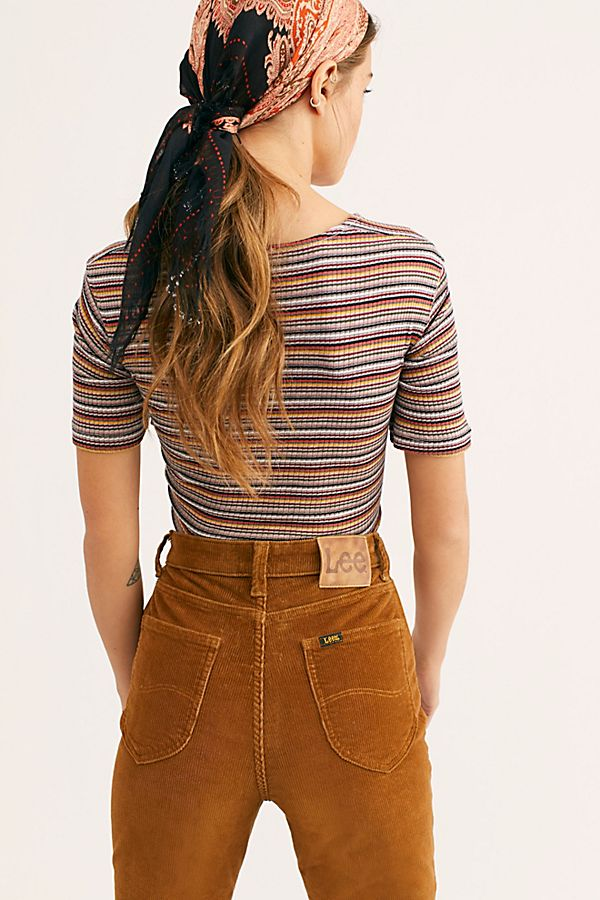 Free People Wild Stripe Tee
