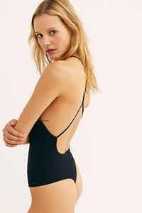 Free People Bridget Bodysuit - Black