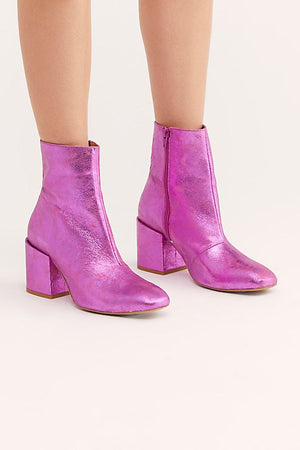 Free People Metallic Nicola Heel Boot