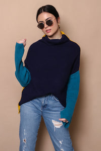 Block Party Turtleneck Sweater