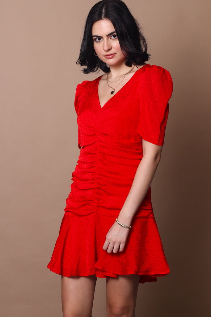 Ana Puff Sleeve Dress