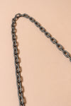Matte Chain Mask Leash