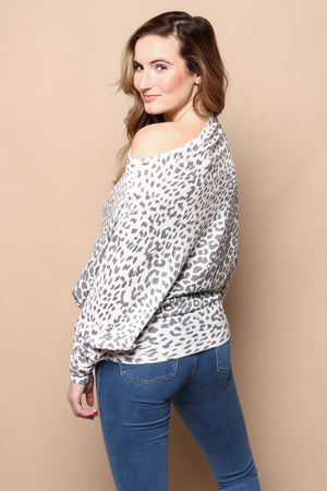 Lean In Off The Shoulder Tunic