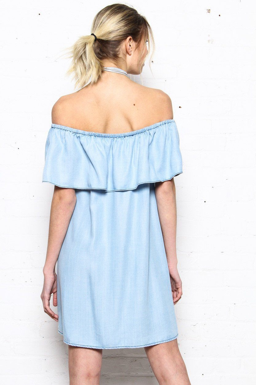 BB Dakota Maci Off The Shoulder Dress