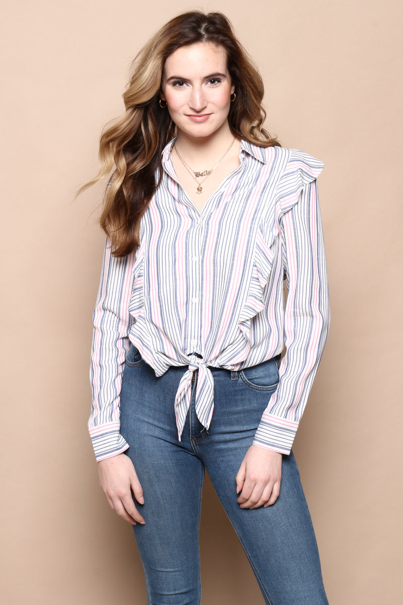 BB Dakota Ruffle Rider Top