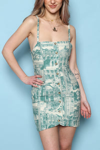 Republic of Cool Button Sundress