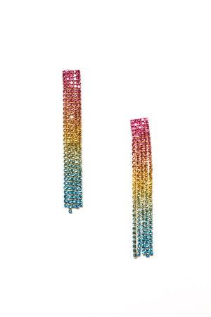 Ombre Rainbow Dangles