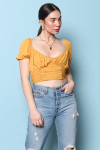 MINKPINK Cass Ruched Top