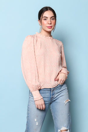 Made Me Blush Puff Sleeve Top