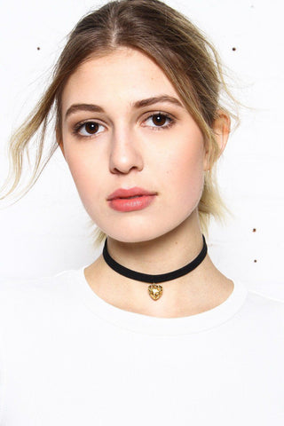 Love Of Mine Suede Choker