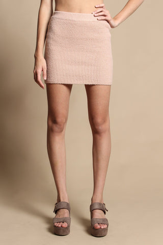 Lucca Martie Fittied Mini Skirt