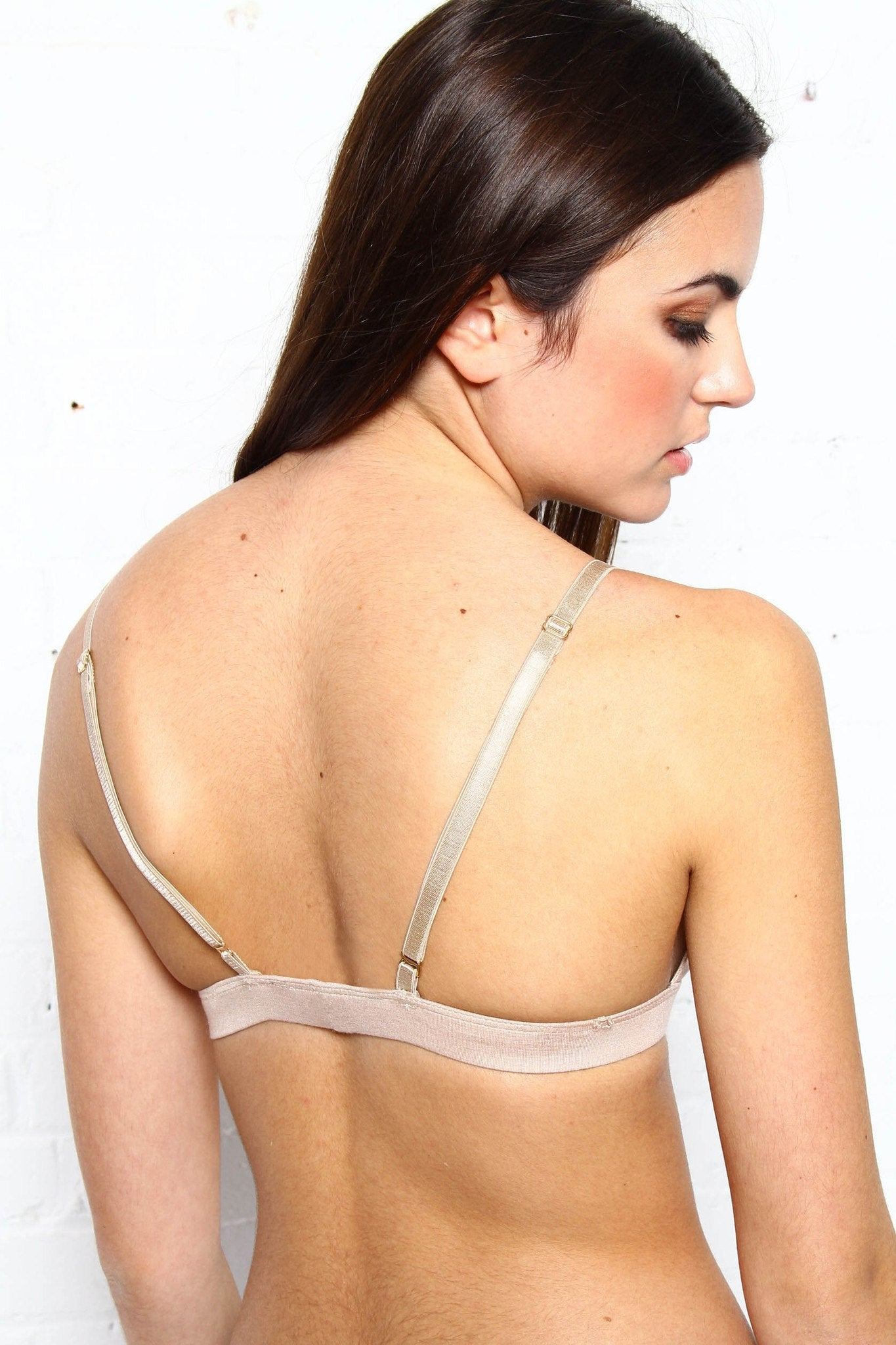 On Edge Jersey Bralette - Nude