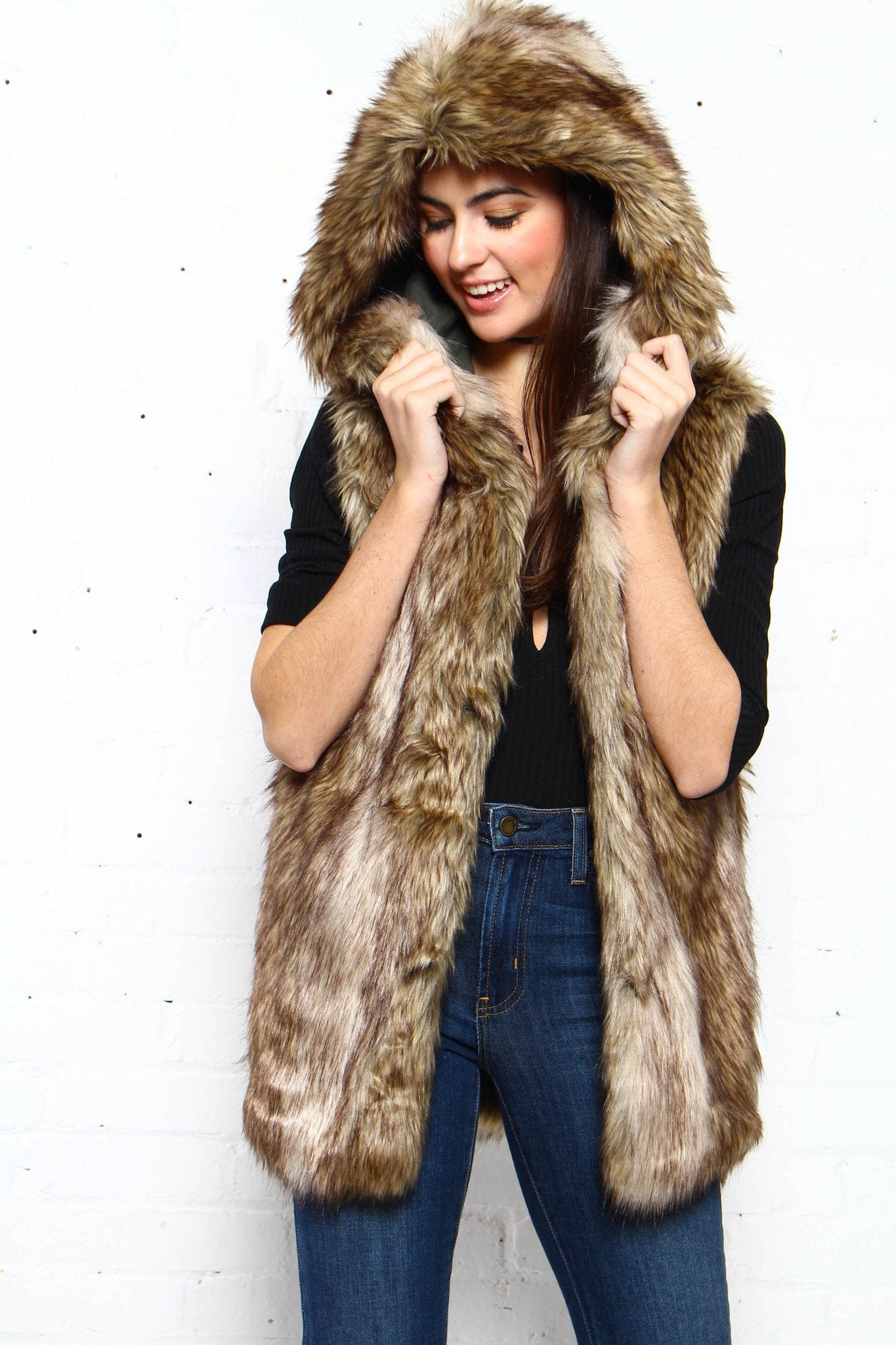 BB Dakota Gerrard Fur Lined Coat