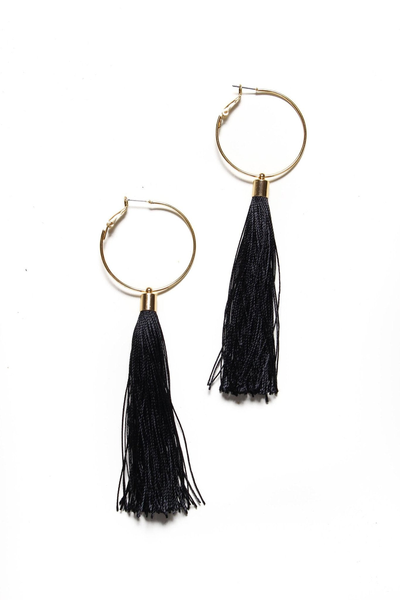 Showstopper Tassel Hoops