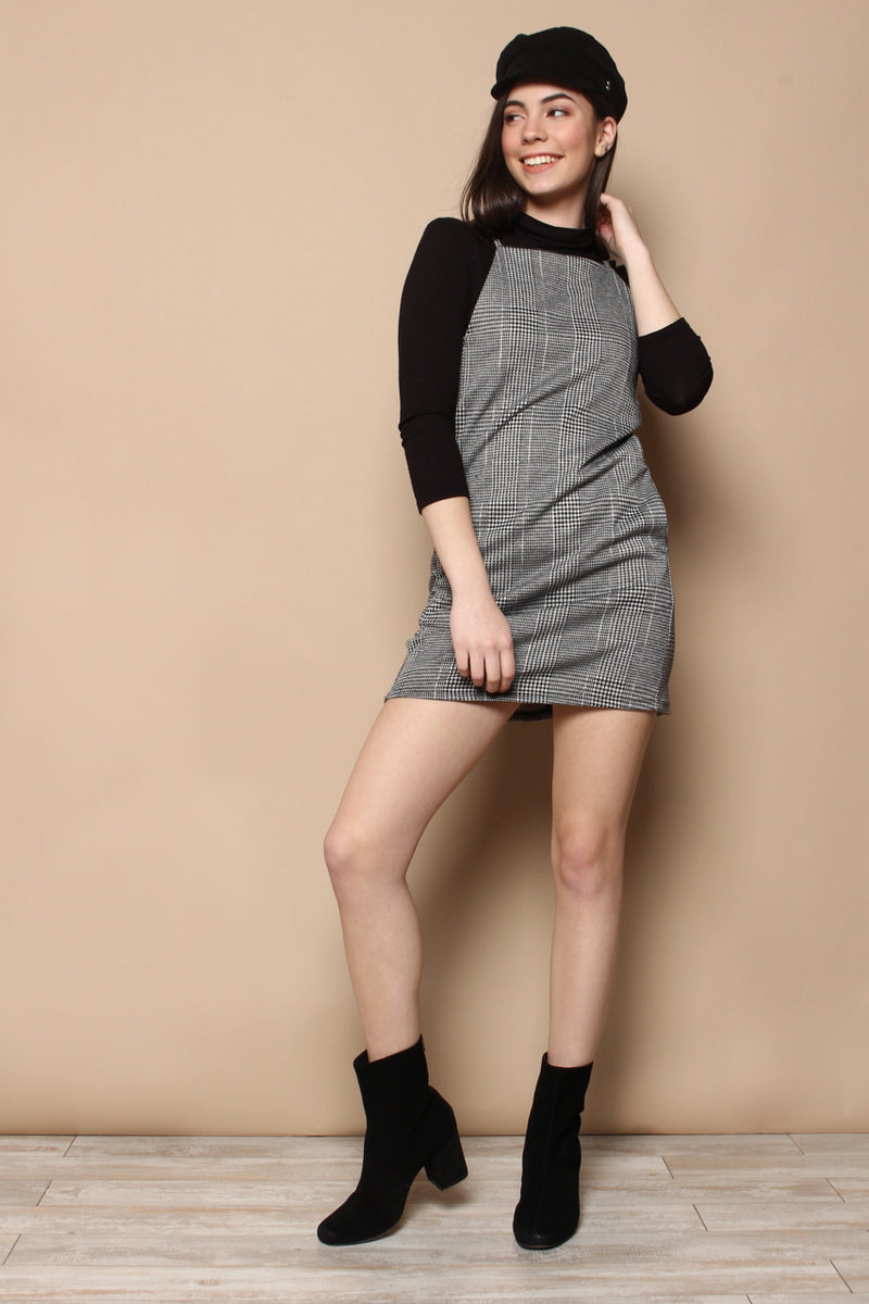 BB Dakota Check Yourself Knit Shift Dress