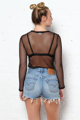 Safety Net Mesh Top