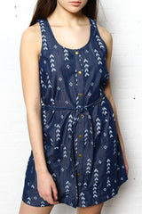 BB Dakota Tavon Chambray Dress