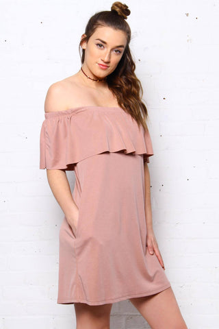 Amelie Off The Shoulder Dress