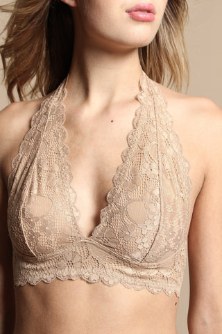 Free People Gallon Lace Halter