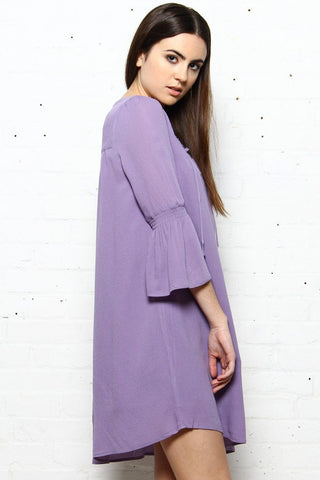 BB Dakota Simone Bell Sleeve Dress