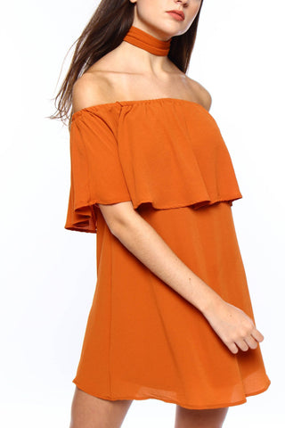 Reverse Chloe Off The Shoulder Dress