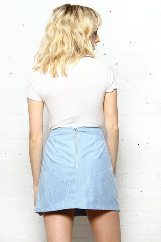 Faux Sure Suede Mini Skirt