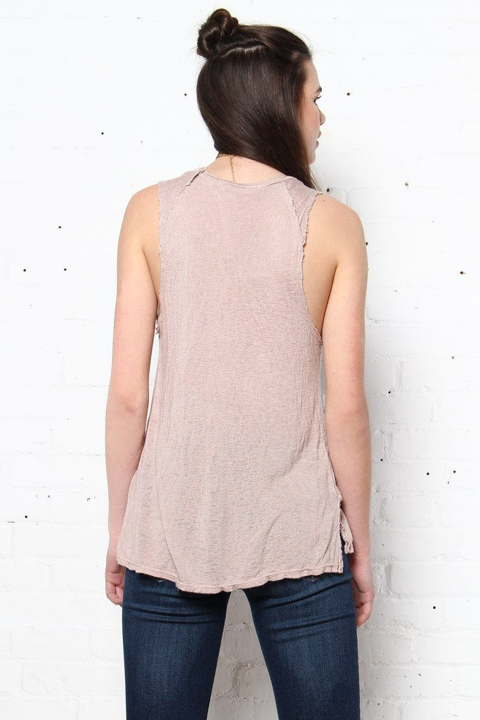 Project Social T James Tank - Mink