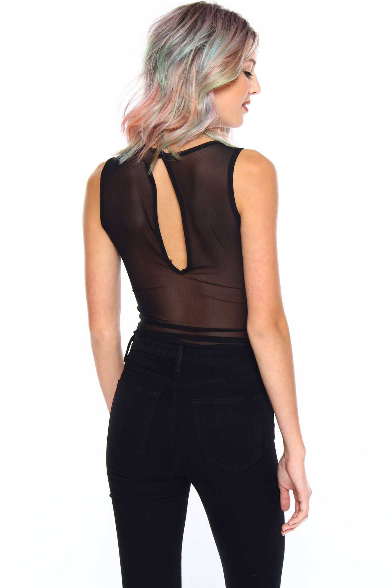 Fresh-Cut Mesh Bodysuit